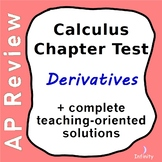 Calculus Test - Derivatives
