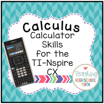 Ti Nspire Worksheets & Teaching Resources   Teachers Pay