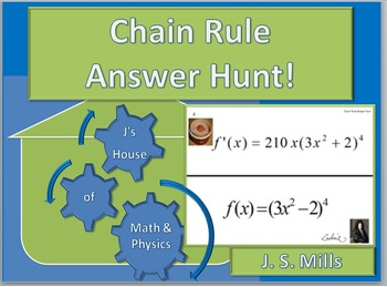 Calculus Chain Rule Answer Hunt