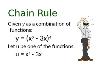 Calculus:  Chain Rule Notes Powerpoint