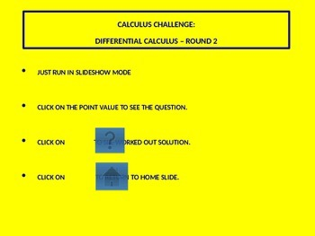 Calculus Challenge - Differential Equations - Round 2