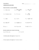 Calculus Chapter 3 Derivatives Last Part