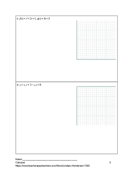 Calculus Complete Year Bundle 6 Units