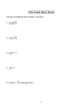 Calculus Connections - AP Calculus Exam Review