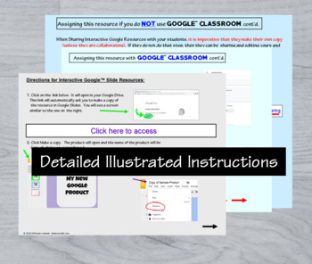 Calculus Continuity Digital Task Cards with GOOGLE Slides