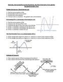 Calculus Curve Sketching