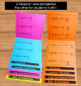 Calculus Derivative Formulas Flip Book Foldable