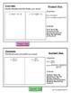 Calculus Derivative Rules Flip Book