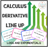 Calculus Derivative of Natural Log and Exponential Functions Line Them Up