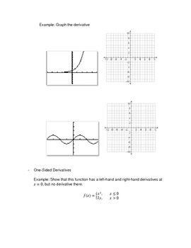 Calculus: Derivative of a Function