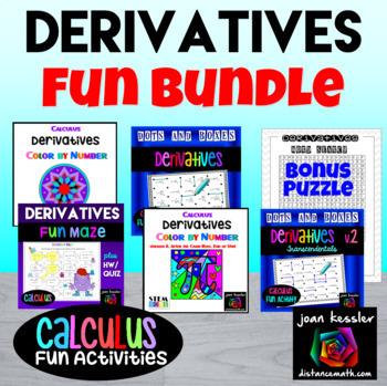 Calculus Derivatives Bundle of Fun