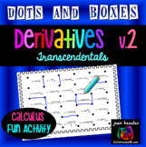Calculus  Derivatives Dots and Boxes Fun Game - v2 Transce