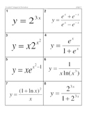 Calculus Derivatives and Integrals MatchingMania