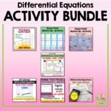 Calculus Differential Equations Activities (Unit 7)
