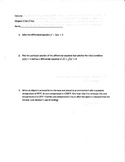 Calculus Differential Equations and Inverse Trigonometric Test