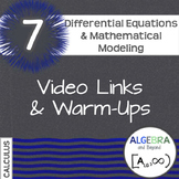 Calculus: Differential Equations and Mathematical Modeling
