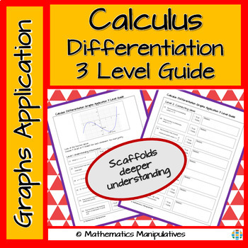 Calculus Differentiation Graphs Application 3 Level Guide