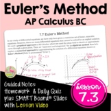 Euler's Method (BC Version - Unit 7)