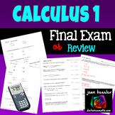 Calculus Final Exam