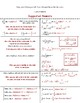 Calculus Foldable 5-2: Int. Strategies with Natural Log as Antiderivative