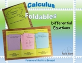 Calculus Foldable 6-1: Differential Equations