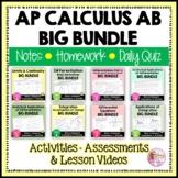 AP Calculus AB Big Bundle (No SMART Board)