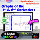 Calculus Matching Graphs of Derivatives, f, f', f''  GOOGLE™ Distance Learning