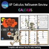 AP Calculus Halloween Review