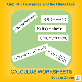 Calculus III: Derivatives and the Chain Rule