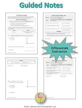 Calculus: Improper Integrals