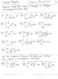 Calculus : Improper Integrals