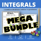Calculus Integrals BUNDLE: Math Bingo Review Games