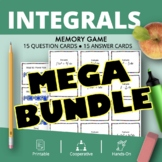 Calculus Integrals BUNDLE: Math Memory Games