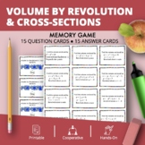Calculus Integrals: Volume by Revolution and Cross-section