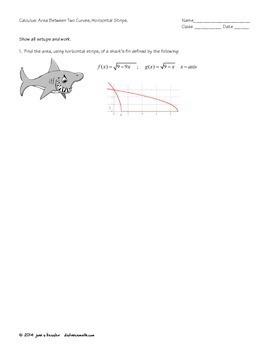 ap calculus area and volume worksheet pdf