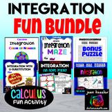 Calculus Integration Bundle of Fun