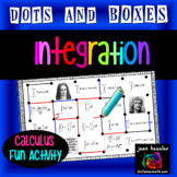 Calculus Integration Dots and Boxes Fun Game