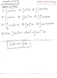 Calculus : Integration by Parts