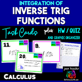 Calculus Integration of Inverse Trig Functions plus HW