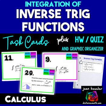 Calculus Integration of Inverse Trig Functions