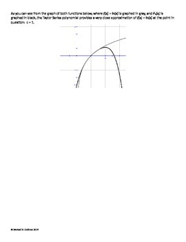 Calculus Introduction to the Taylor Series and Euler's Formula