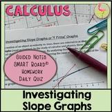 Investigating Slope Graphs (Calculus - Unit 2)