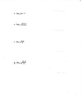 Calculus Limit Test