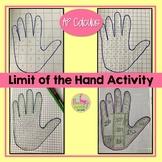 Calculus Limit of the Hand Activity (Unit 1)