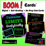 Calculus Limits Analytically with BOOM Cards
