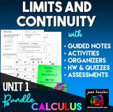 Calculus Limits Bundle of  Activites