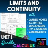 Calculus Limits and Continuity Bundle of Activities