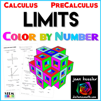 Calculus Limits Color by Number