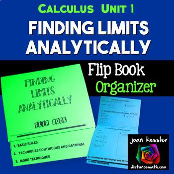 Calculus Limits Flip Book