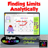 Calculus Limits Maze with GOOGLE Slides™ plus HW  Distance Learning